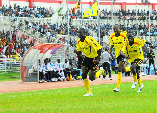Cranes celebrates on their last encounter with Kenya