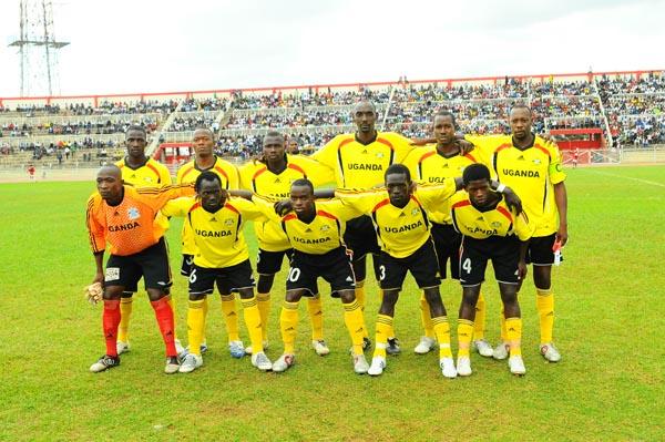Uganda Cranes linup against Kenya