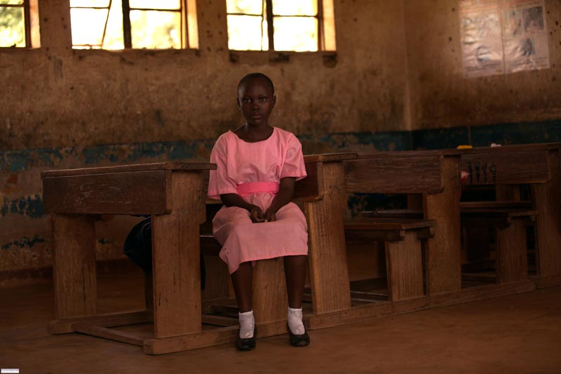 School girl in Iganga