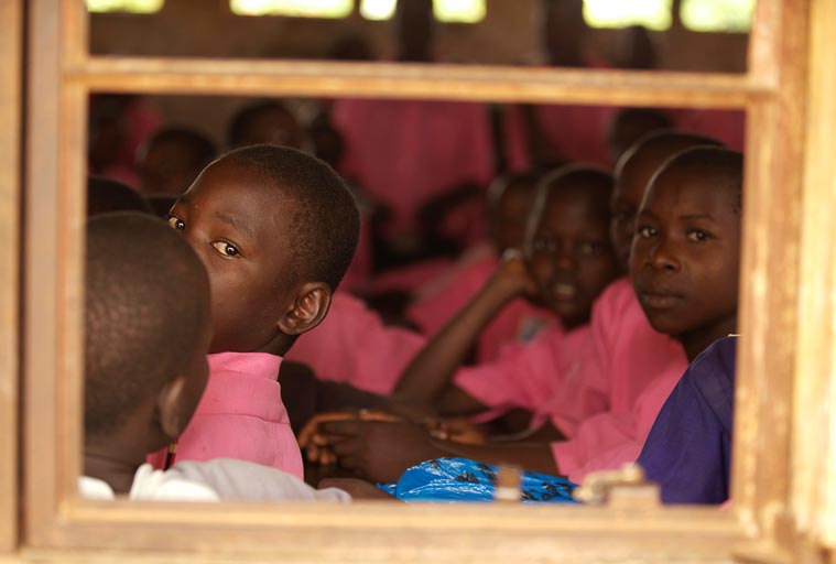 School Children in Iganga