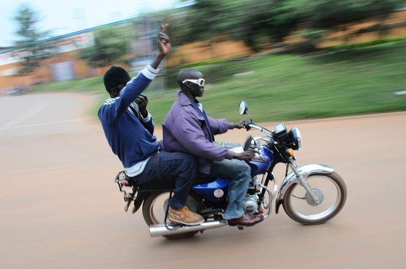 Kiiza Besigye has depended a lot on the morale offered by boda bodas during the campaigns