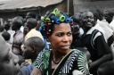Even with hair half done, she ran from the saloon to attend a Besigye rally in Kibaale in Rakai