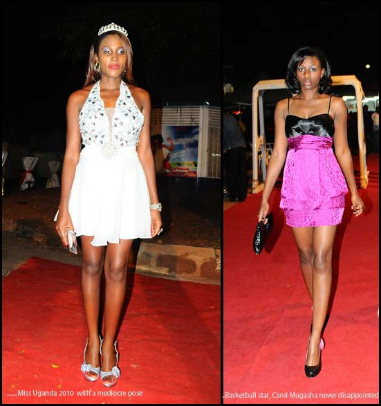 A comparison between reigning Miss Uganda and Basketball star, Carol Mugasha