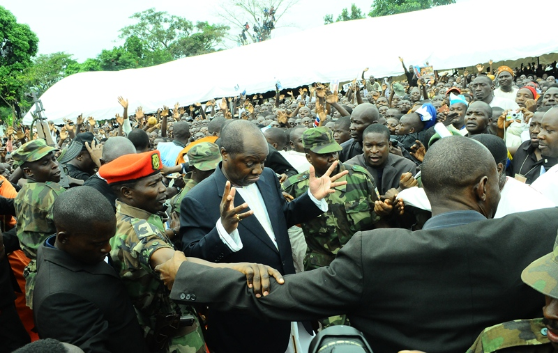Kabaka abandons the Kasubi Tombs prayers