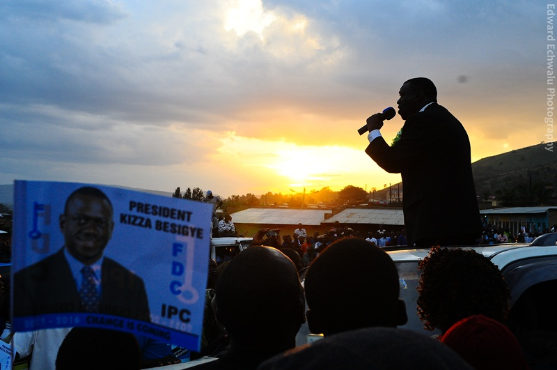 The clock is ticking.Kizza Besigye knows it.