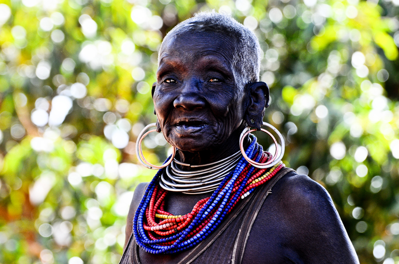 Splendid Portrait: I took this picture in Moroto district. I beautiful elderly Karamojong woman who insisted  i take a picture. It's afterwards that i realized, i had almost lost a classic portrait.