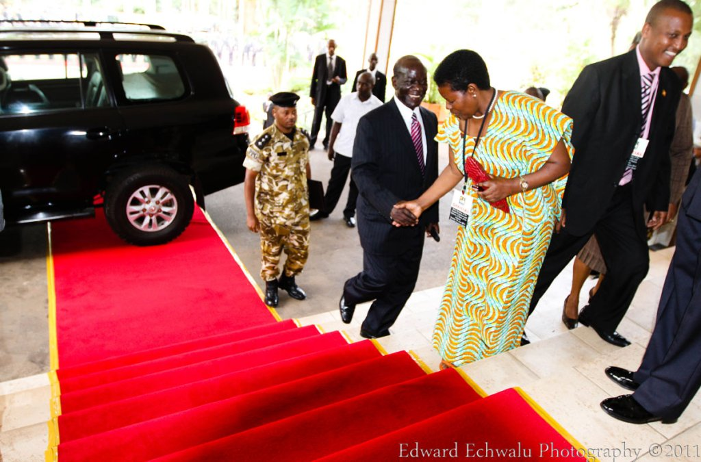 Ssekandi is now completely off the red carpet even on the insistence of the Chief of Protocol