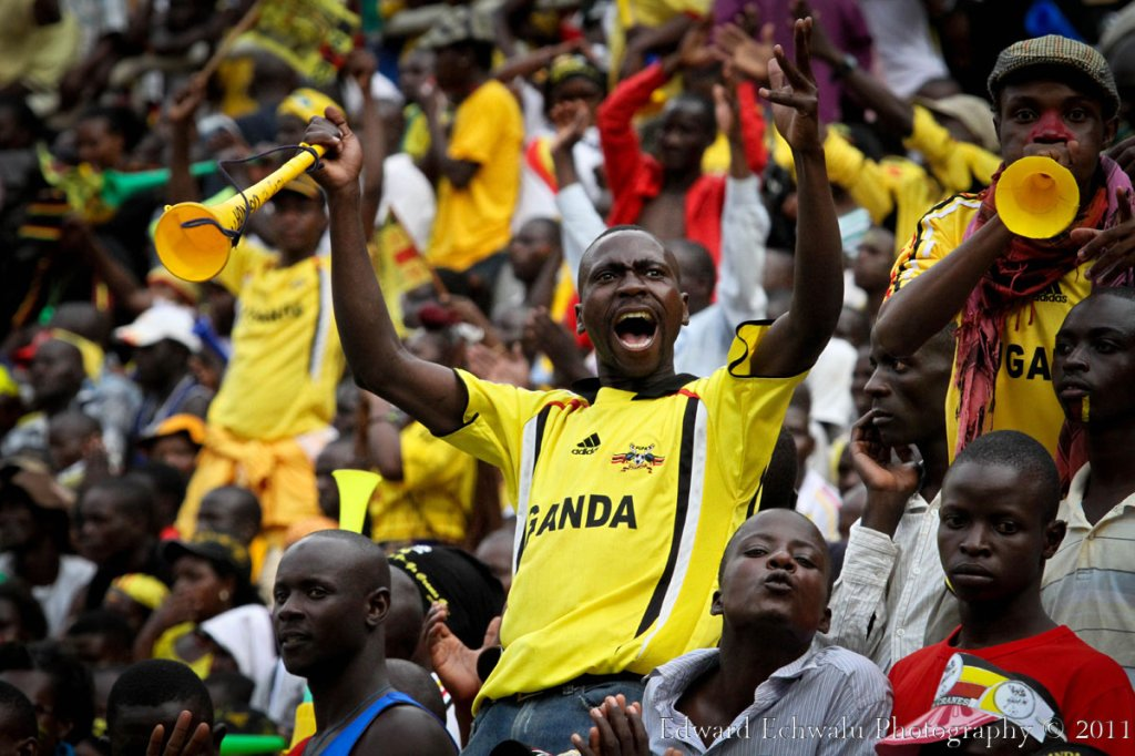 And this is how it feels like to celebrate a goal. It was such a gleaming atmosphere at the Mandela Nation Stadium (Namboole) as Uganda won the match 2-0. With 10 points gathered so far, it literally means Uganda needs a point in their two remaining fixtures against Angola (September 3) and Kenya (October 8) to qualify for the finals for the first time since 1978