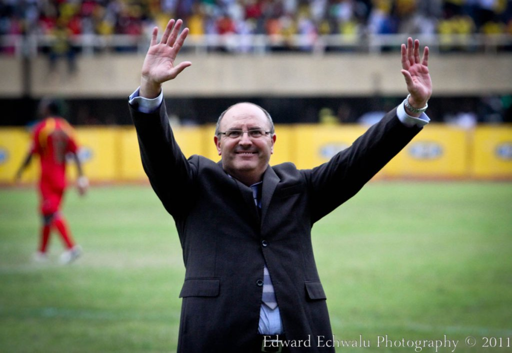Uganda Cranes Coach, Bobby Williamson applauds the fans for turning up in huge numbers to cheer on the team. Uganda Cranes beat Guinea Bissau 2-0. But with 10 points gathered so far, it literally means Uganda needs a point in their two remaining fixtures against Angola (September 3) and Kenya (October 8) to qualify for the finals for the first time since 1978