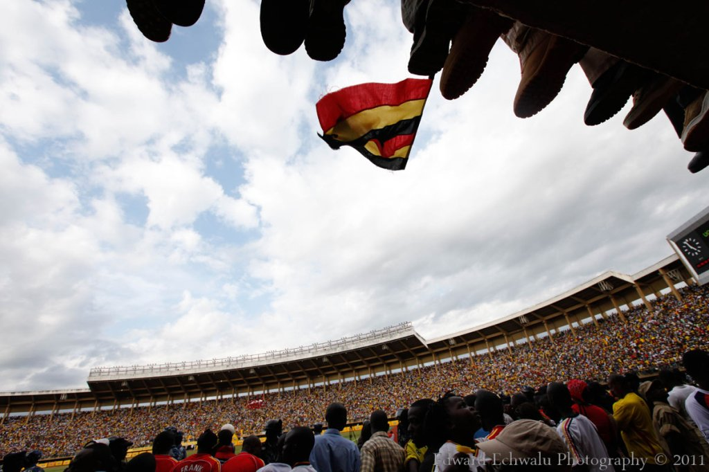 Mandela Nation Stadium (Namboole) was full to the bream. My estimation stands at 60.000. With 10 points gathered so far, it literally means Uganda needs a point in their two remaining fixtures against Angola (September 3) and Kenya (October 8) to qualify for the finals for the first time since 1978.