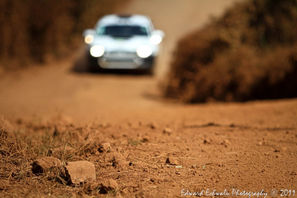 Covering any motor rally is usually a risk. For example, these stones could bounce of the tyre and hit a camera/your face