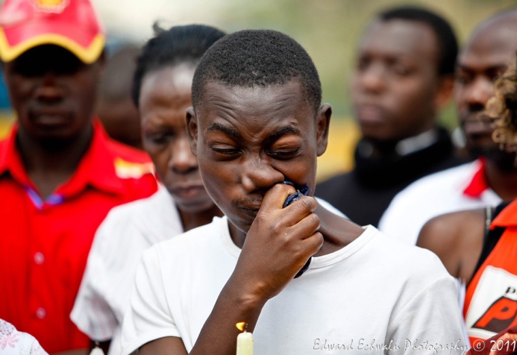 One year later, the memories are still very fresh. Friends, relatives and well wishers could not hold back their tears as they attended the first anniversary of the July 11, 2010 Kampala bombings that claimed 86 lives.
